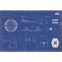STAR WARS - IMPERIAL FLEET BLUEPRINT JULISTE