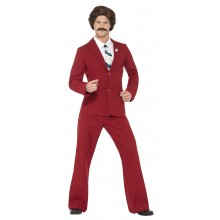 Anchorman Ron Burgundy Maskeraddräkt