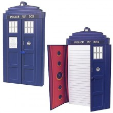 Doctor Who TARDIS Deluxe Muistilehtiö