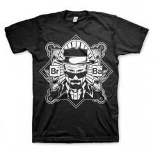 Breaking Bad Heisenberg T-Paita Musta