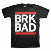Breaking Bad BRK BAD T-Paita Mustat