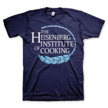 Breaking Bad Heisenberg Institute Of Cooking T-Paita Laivastonsininen
