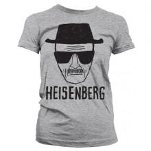 Breaking Bad Heisenberg Sketch Naisten T-Paita Harmaa