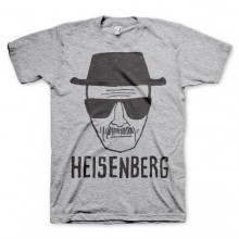 Breaking Bad Heisenberg Sketch T-Paita Harmaa