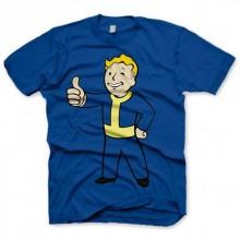 Fallout Thumbs Up T-Paita Sininen