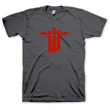 Wolfenstein: The New Order T-Paita Logo Harmaa