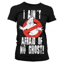 Ghostbusters I Ain´t Afraid T-Paita Naisten Musta