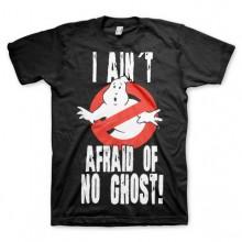 Ghostbusters I Ain´t Afraid T-Paita Musta