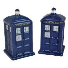 Doctor Who TARDIS Suola- & Pippuripurkit