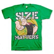 Popeye Size Matters T-Paita Vihreä
