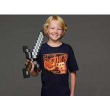 Minecraft Nether Postcard Lasten T-paita