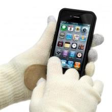 Touch Screen Sormikkaat Valkoiset