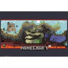 Minecraft Underground Juliste