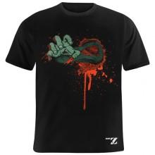 Zombie Outbreak T-Paita Musta
