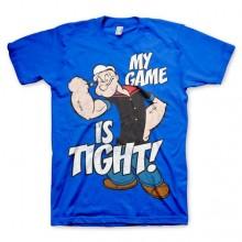 Popeye - Game Is Tight T-Paita Sininen
