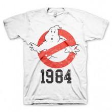 Ghostbusters 1984 T-Paita Valkoinen
