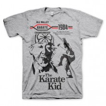 The Karate Kid T-Paita Harmaa