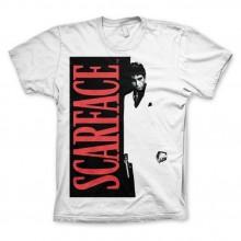 Scarface Poster T-Paita Valkoinen