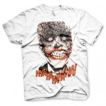 Batman The Joker - HyaHaHaHa T-Paita Valkoinen