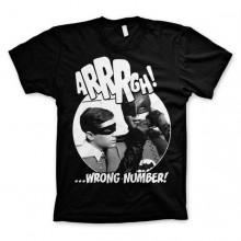 Batman Arrrgh - Wrong Number T-Paita Musta