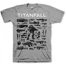 Titanfall T-Paita Choose Your Weapon