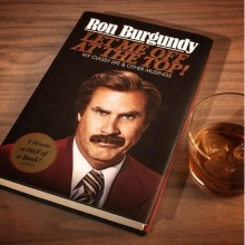 Ron Burgundy - Let Me Off at the Top! - Kirja