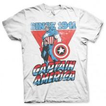 Captain America Since 1941 T-Paita Valkoinen