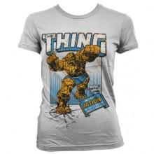 The Thing Action Naisten T-Paita valkoinen