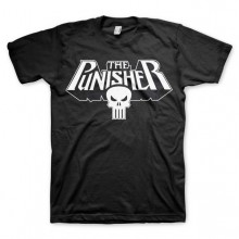 The Punisher Logo T-Paita Musta