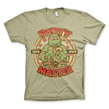 TMNT - Party Master Since 1984 T-Paita Khaki