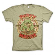 TMNT - Party Master Since 1984 T-Paita Khaki