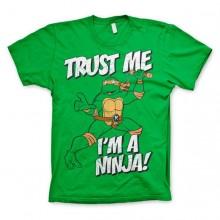 TMNT - Trust Me, I´m A Ninja T-Shirt! Vihreä