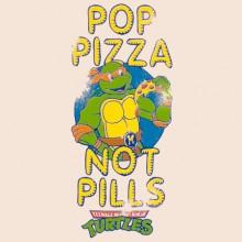 Pop Pizza - TMNT T-Shirt