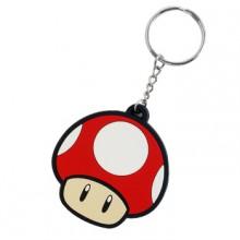 Nintendo Punainen Sieni Avaimenperä