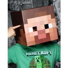 Minecraft Steve Pää