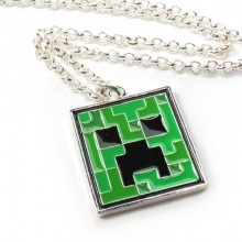 Minecraft Creeper Pendant Kaulakoru