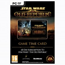 Star Wars: The Old Rebublic 60 Days Game Time Card PC
