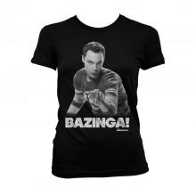 Sheldon Says BAZINGA! Naisten T-Paita
