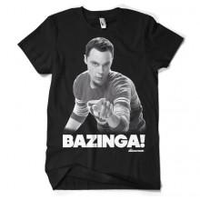 Sheldon Says BAZINGA! T-Paita