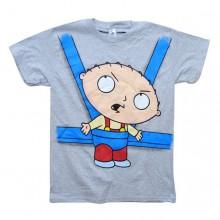 Stewie in baby Sling T-paita