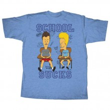 Beavis & Butthead - School Sucks T-Paita