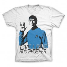 Star trek - Live Long And Prosper T-Paita