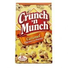 Crunch Munch Caramel - Popcornia maapähkinöillä ja karamellilla