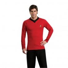 Star Trek Classic Deluxe Punainen Paita