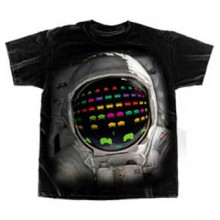 Space Invaders - Astronaut Invader T-paita