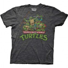 TMNT Distressed T-Shirt