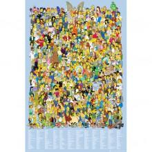 Simpsons - Cast 2012 Juliste