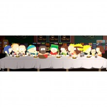 South Park Last Supper Juliste
