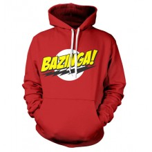 Big Bang Theory Bazinga Logo Huppupusero