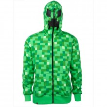 Minecraft Creeper Premium Zip-up Huppari
